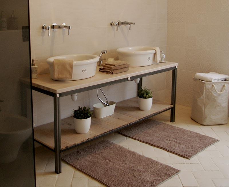 Salle de bains combles grande douche italienne leroy - Travaux salle de bain leroy merlin ...
