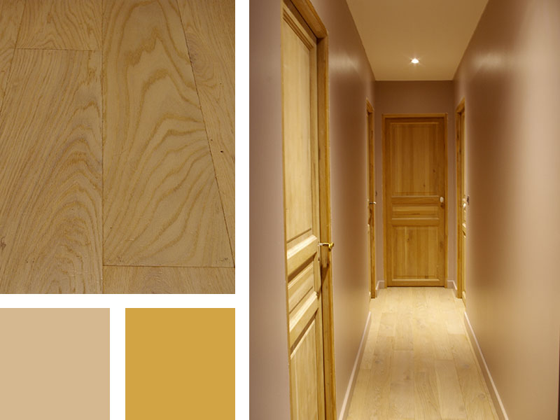 Rénovation de combles :Réalisation d'une chambre, d'un couloir et d'une salle de bain